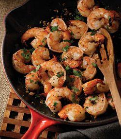Gorgeous Garlic Shrimp (one of my all-time favorite recipes. I love Teresa Giudices cookbooks!)