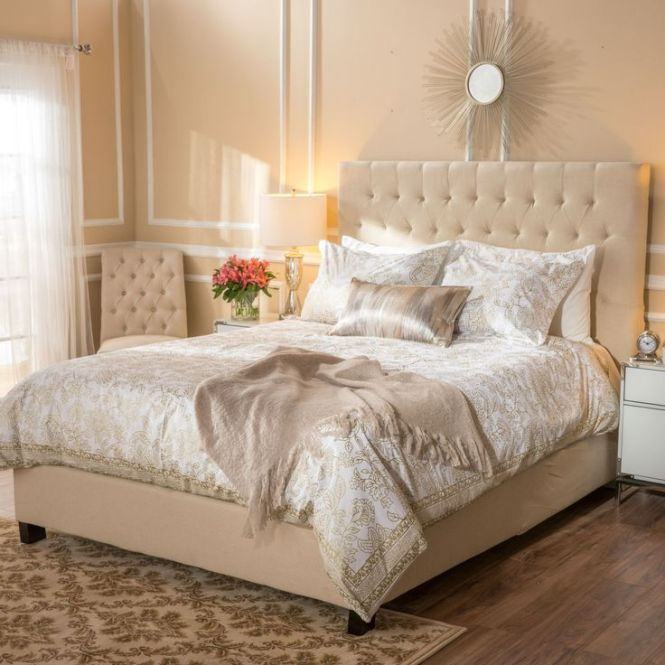 Elia Upholstered Queen Bed By Christopher Knight Home With Decor Mattress And Furniture Outlets