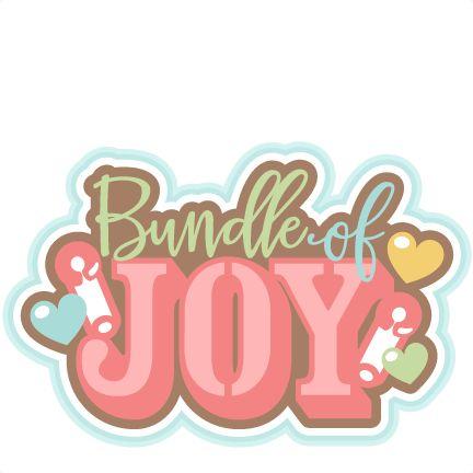 Download Bundle of Joy Title SVG scrapbook cut file cute clipart ...