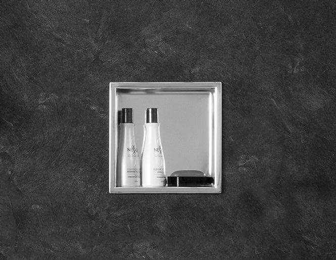 Stainless Steel Shower Niche Rubinet Bathrooms Master