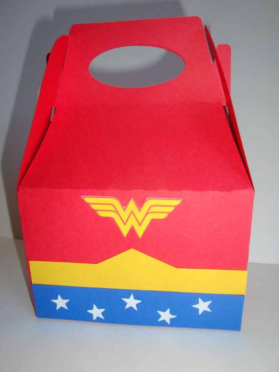Wonder Woman Themed Party Favors
