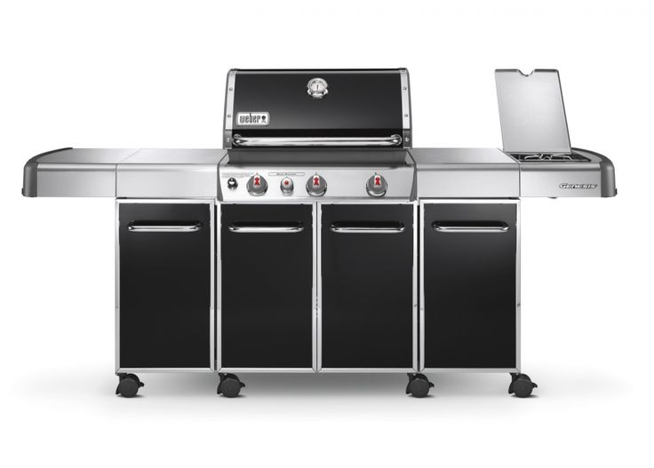 Weber Genesis Grill Center Stainless Steel Cabinets Homeminimalist Co