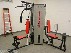 Weider 4900 Multi Station Weight Stack Home Gym High