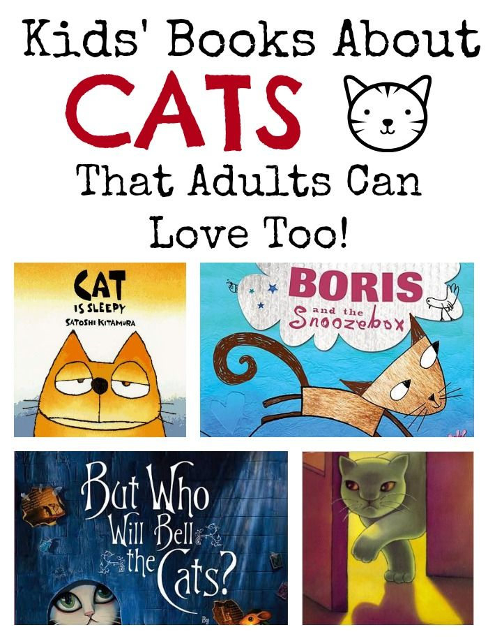 Children's books for cat lovers of all ages, books about