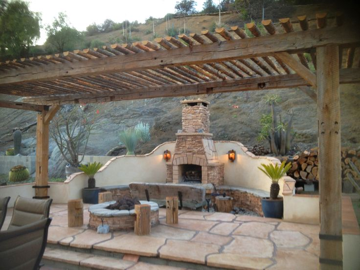Wood Barn Beam Pergola Customer Shares Pinterest