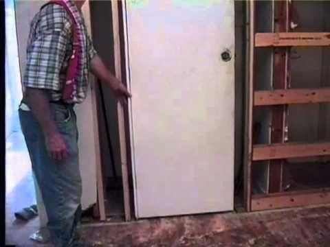 Johnson Hardware 174 Pocket Door Frame Installation Video Youtube Patlynn Pinterest Pocket