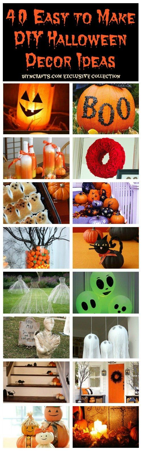 Halloween is a great time for decorating. Many people spend days, not to mention