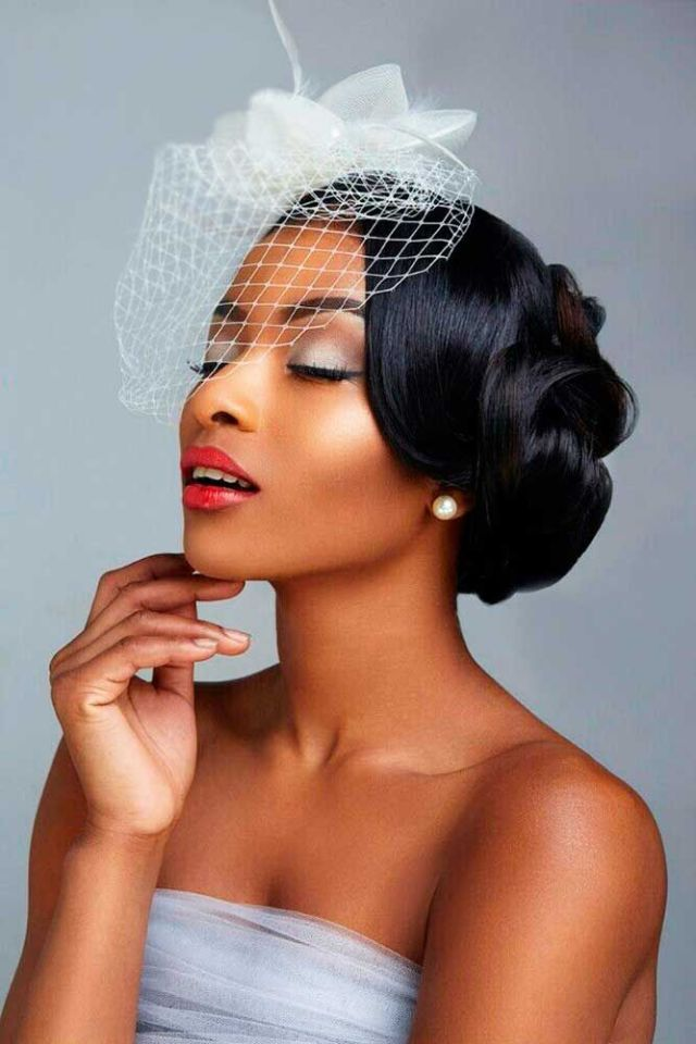 25 Best Ideas about Black  Wedding  Hairstyles  on Pinterest