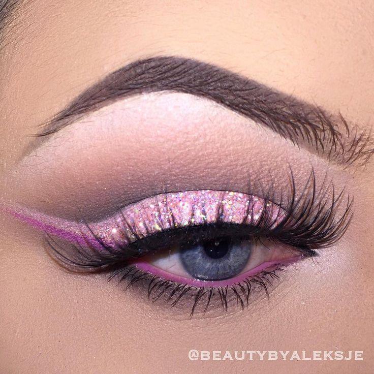 1000 Ideas About Pink Eyes On Pinterest Pink Eye Makeup