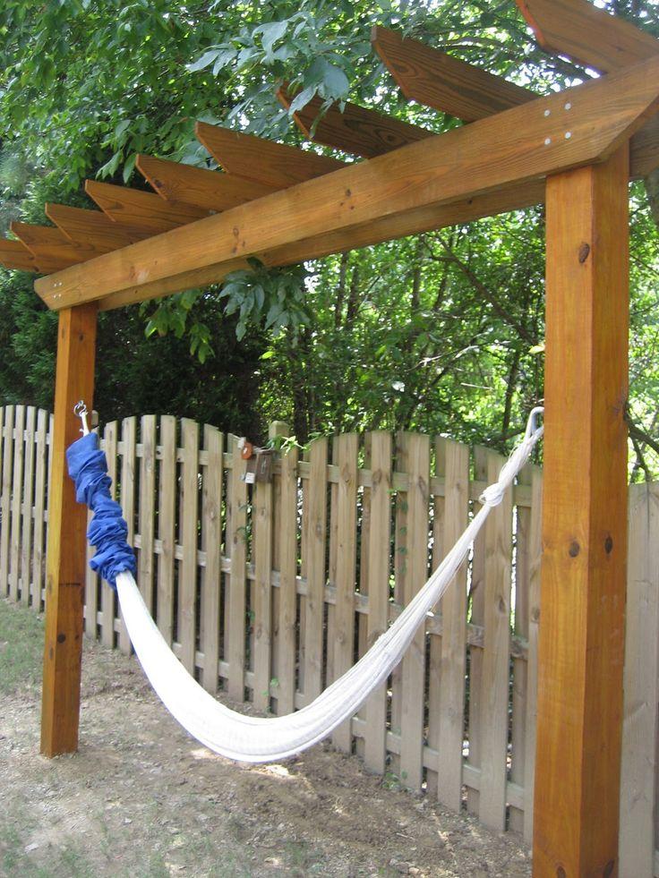 DIY-  hammock stand… here ya go @Justin Dickinson Dickinson Dickinson Dickinso