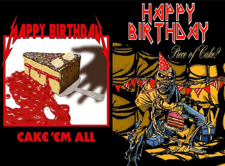 happy birthday maiden Google zoeken Muzikale humor