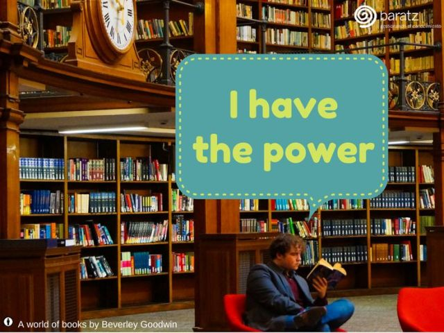 I have the power (in the library)