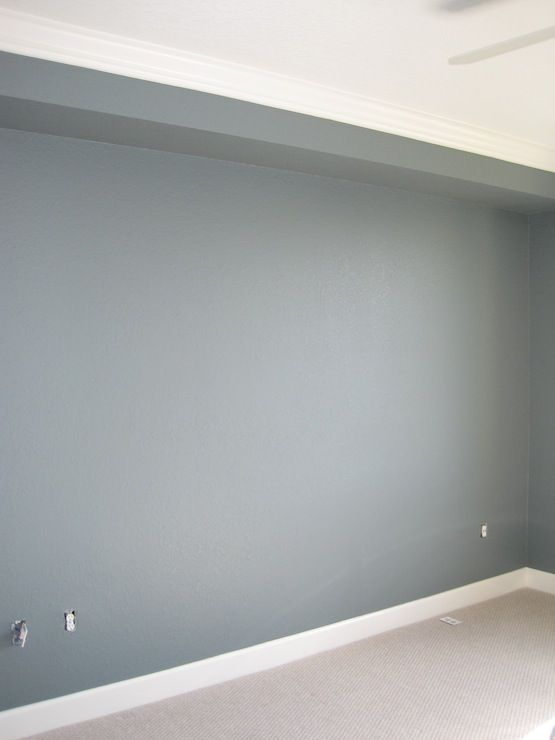Wall Paint Color Is Martha Schoolhouse Slate Gorgeous Blue Gray Would Be