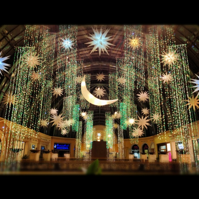 Ramadan decorations at Mall of the Emirates Favorite