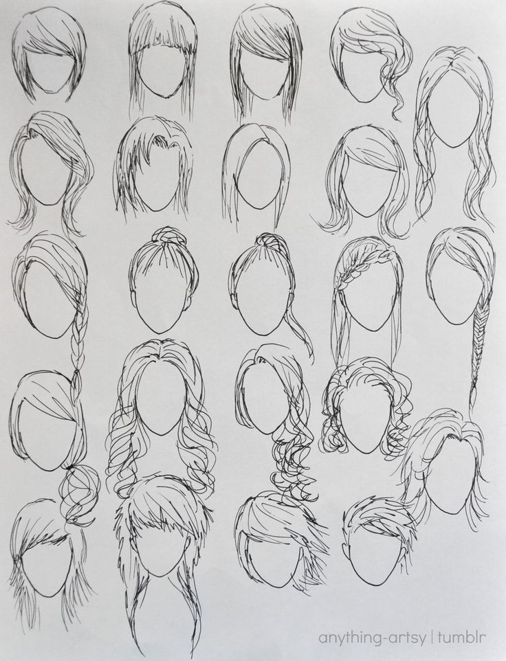 how to draw anime characters step by step for beginners