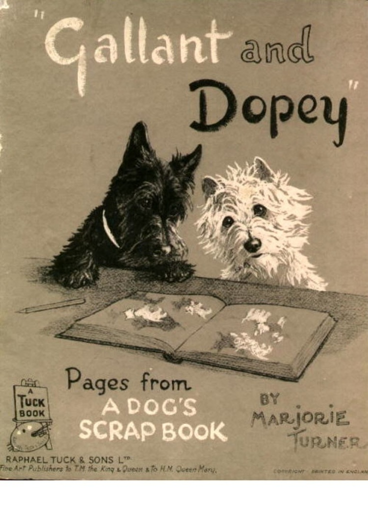 Dopey And Gallant Entire Series Westie And Scottie Dog