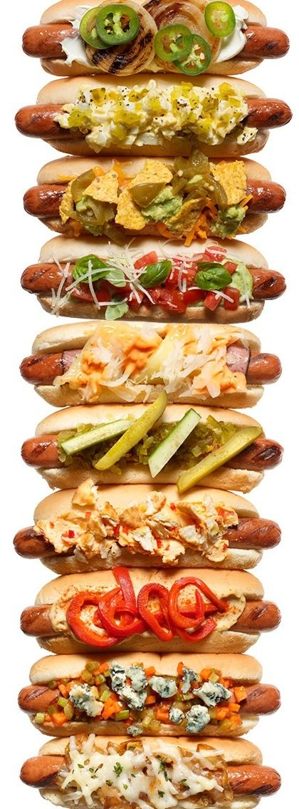 Get creative with your franks with 10 tasty hot dog