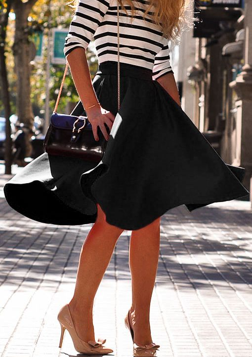 25 Best Ideas About Flare Skirt On Pinterest Flared