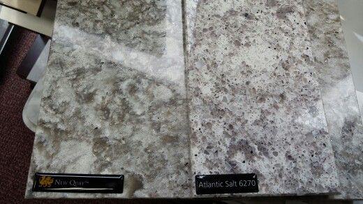 New Quay Vs Atlantic Salt Quartz Counter Top Kitchen