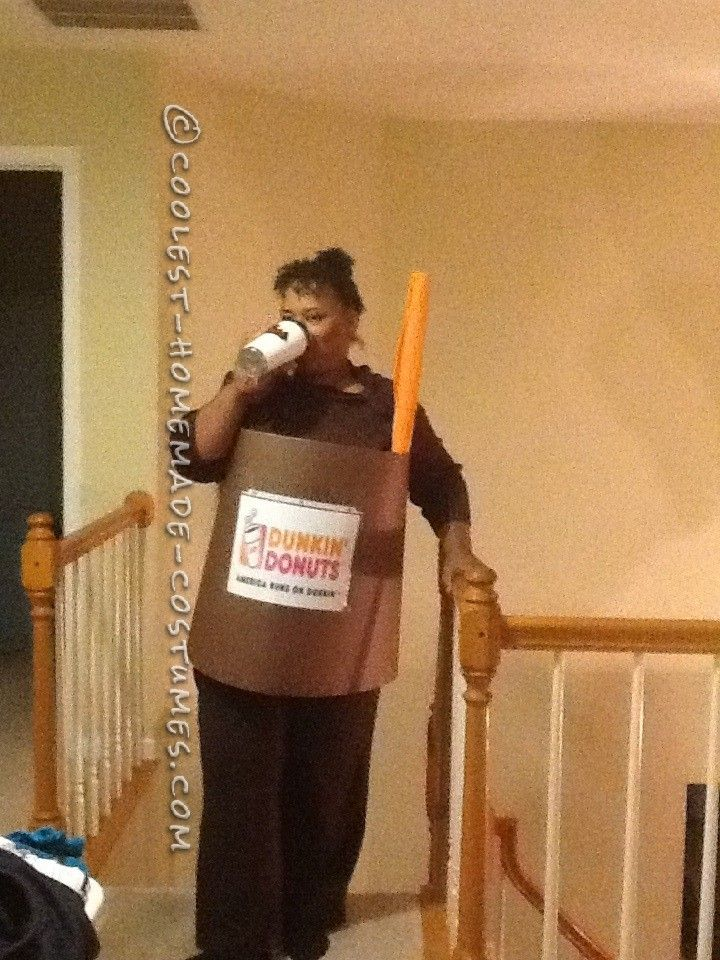 LastMinute Ice Coffee Cup Costume I am what I Drink