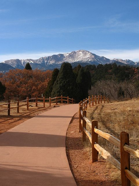 Pike's Peak. Colorado Springs, CO