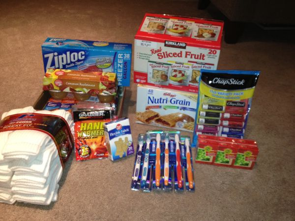 Supplies For Making Homeless Care Packages Why Yes I