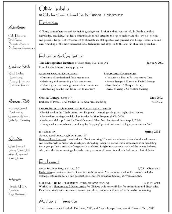 Sample Resume For Psychology Graduate http//www