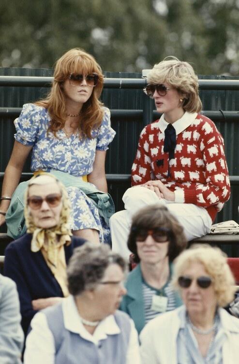 Diana and Sarah, Duchess of York Diana, Princess of
