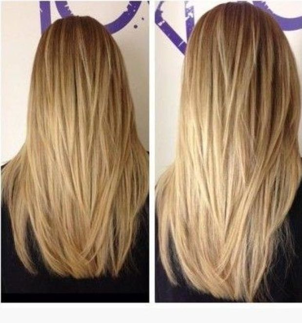 The Fabulous Long Straight Hairstyles with Layers - maybe not quite as many, but this is beautiful: