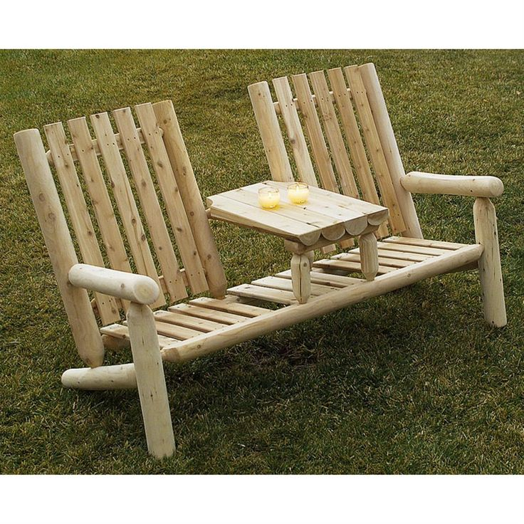 17 Best Ideas About Rustic Outdoor Furniture On Pinterest