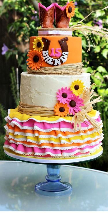 204 Best Images About Cowgirl Cakes On Pinterest See