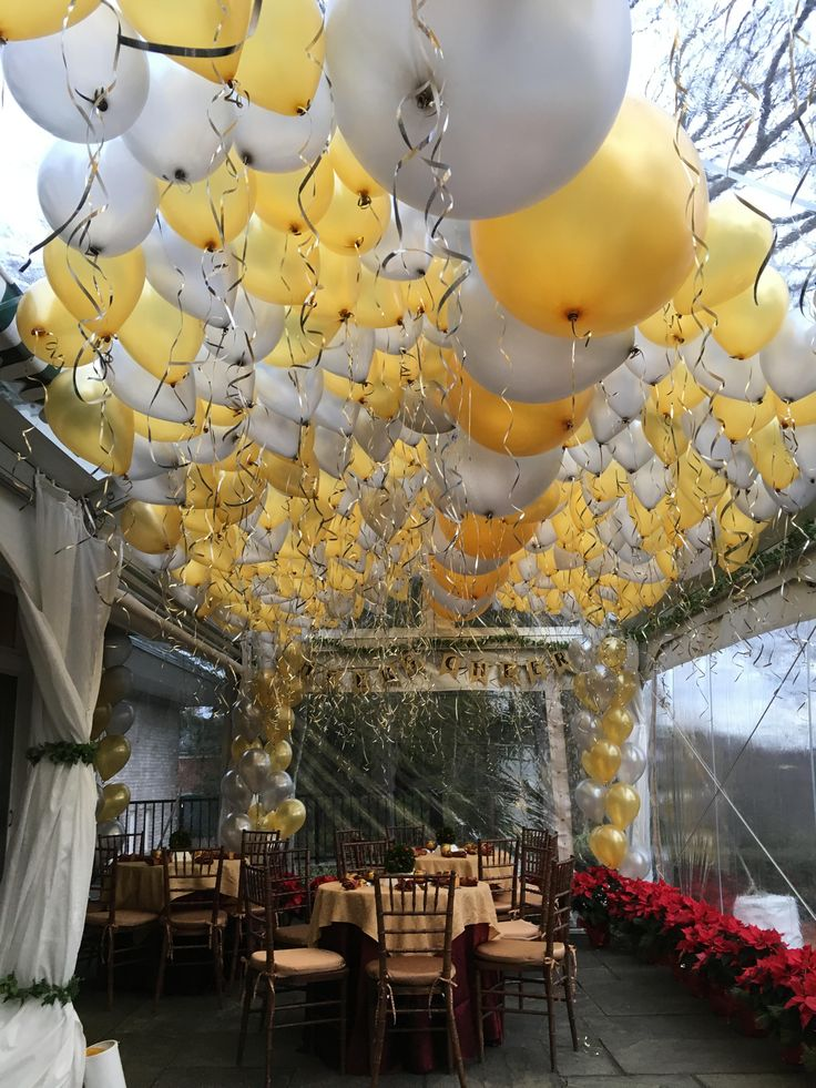 1000 Images About Balloon Ceilings On Pinterest Dance Floors Bat Mitzvah And Foil Balloons
