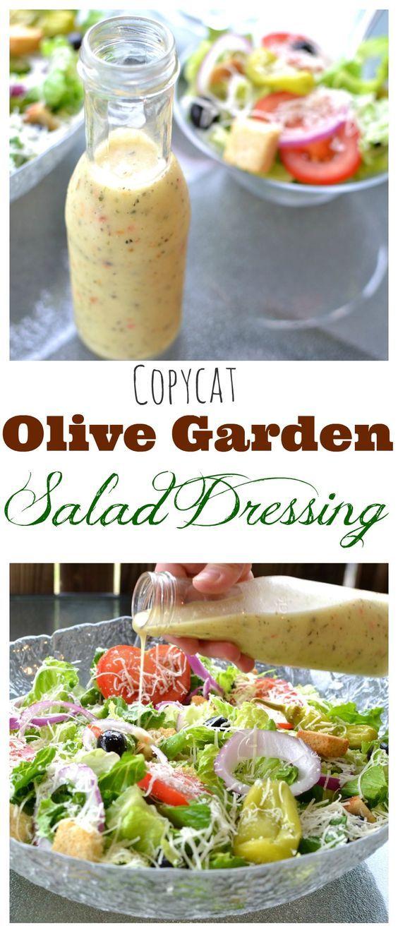 Olive Garden Salad Dressing Recipe Gardens, Restaurant