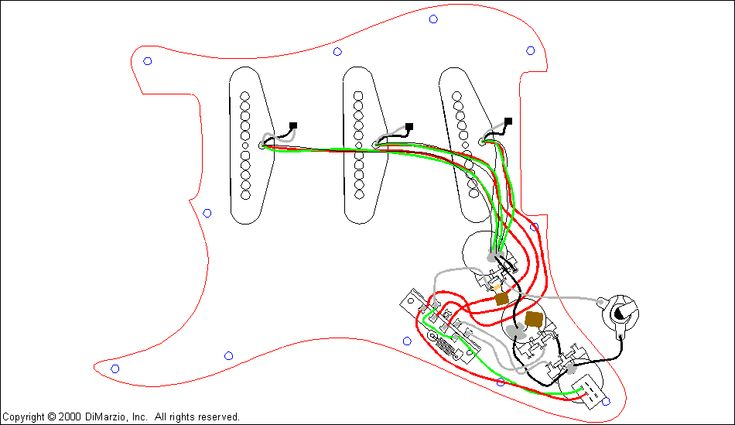 Diagram Stratocaster Wiring Diagrams Diagram Schematic Circuit