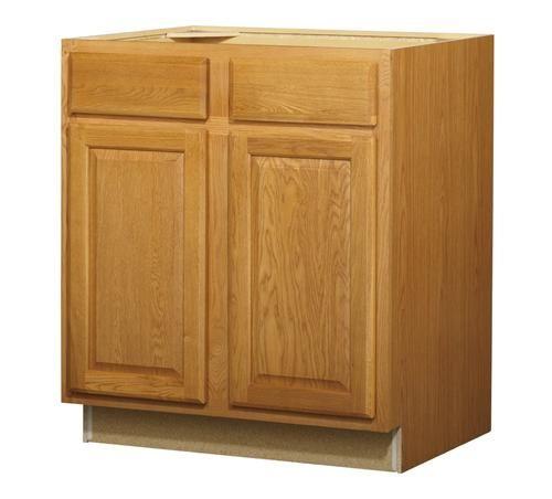 Huron Oak Standard 2 Door Drawer Base 30 Quot Cabinet At