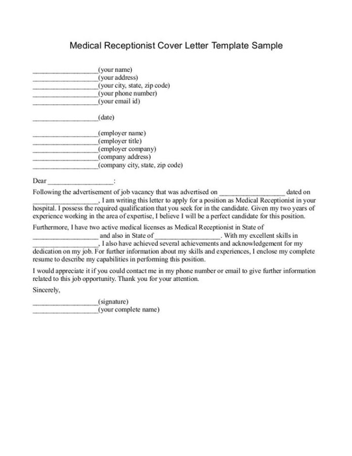 Cover Letter For Medical Appointment Scheduler Medical Scheduler Cover Letter