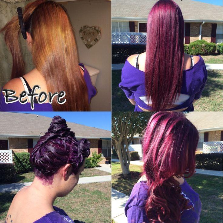 Dark Plum Brown Using Age Beautiful 4V Hair Pinterest
