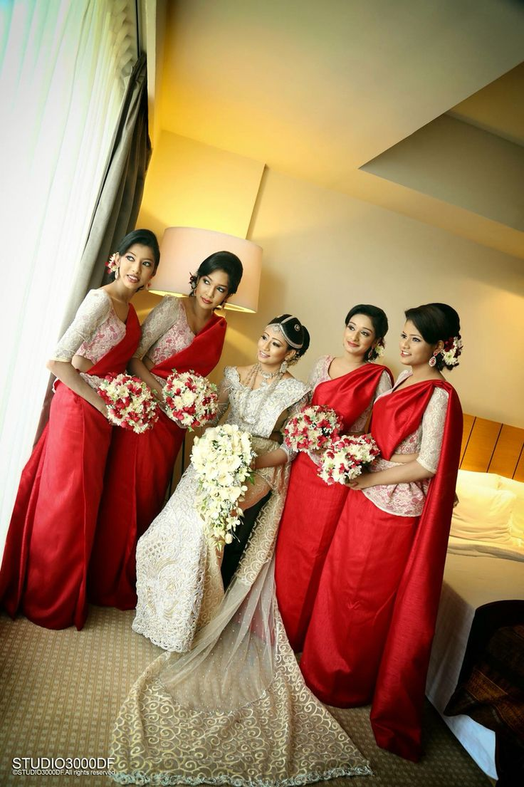 Pin by My Sri Lankan Wedding. on Bridal Party Pinterest