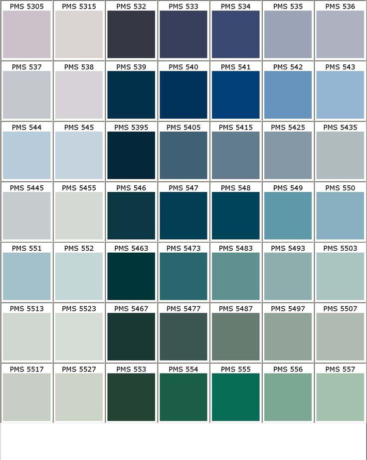 All Shades Purple Chart
