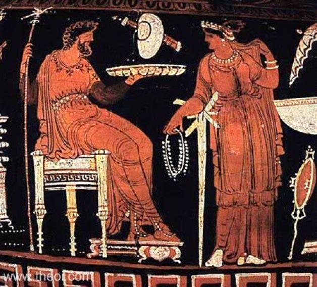 Image result for ancient greek king vase
