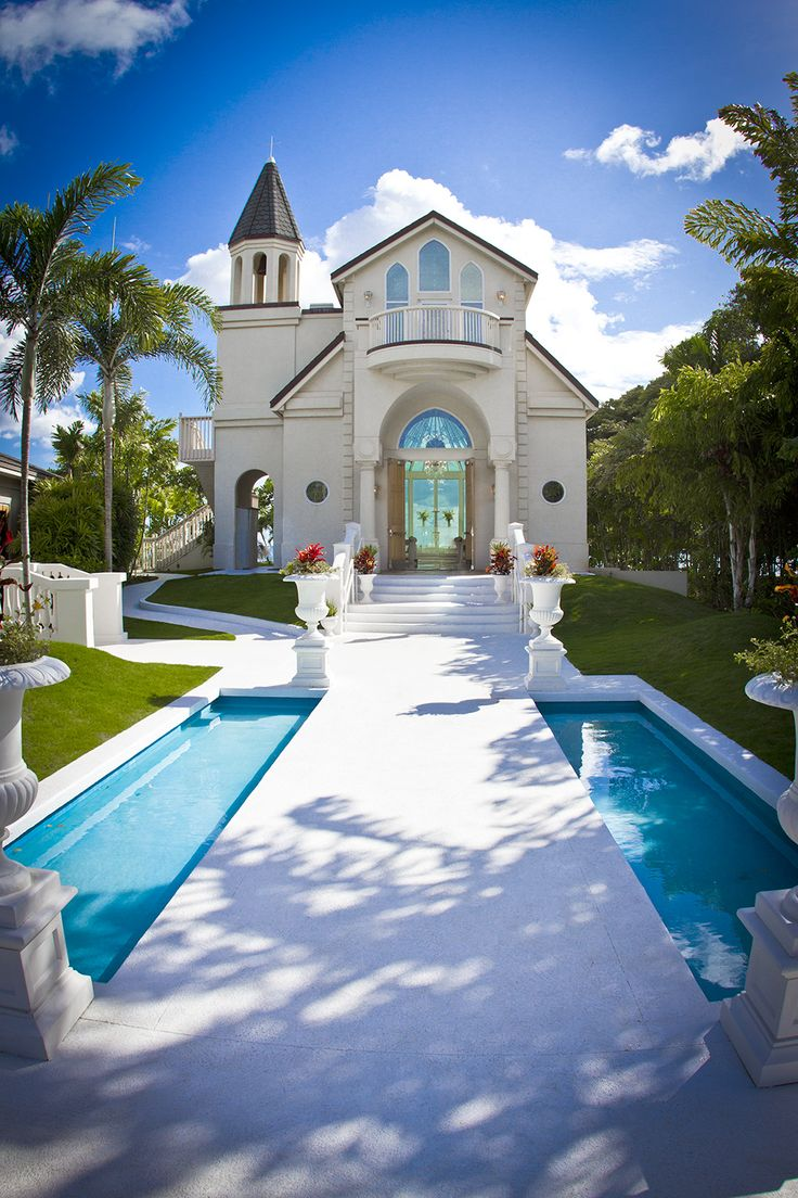 A Beautiful Photo Of Our Paradise Cove Hawaii Wedding Chapel Captured By A Visitor Hawaii