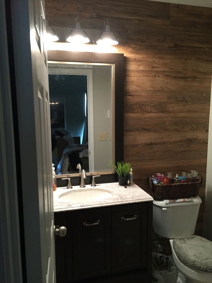 Laminate Wood Wall Farmhouse Lighting And New Peel And