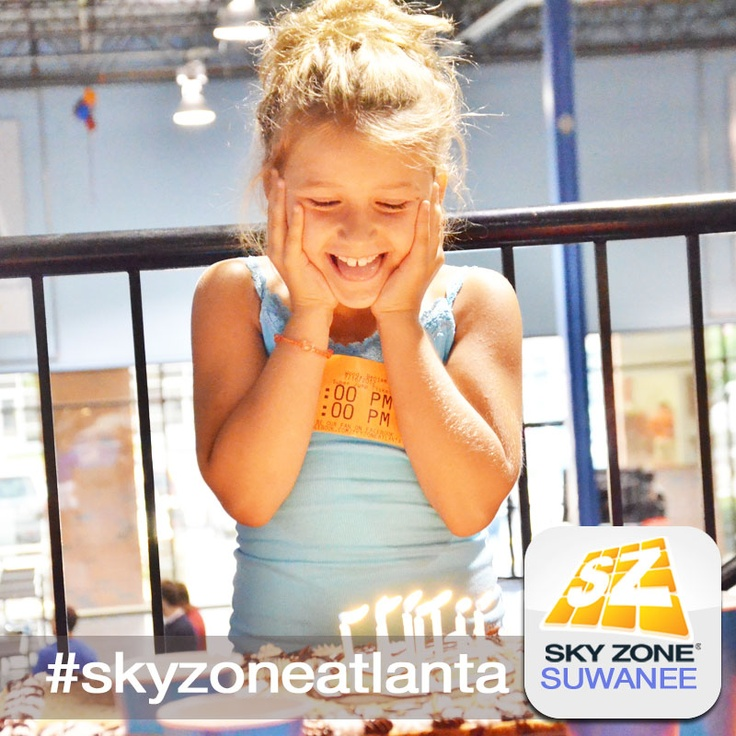 Book YOUR party today at Sky Zone! ) skyzoneatlanta