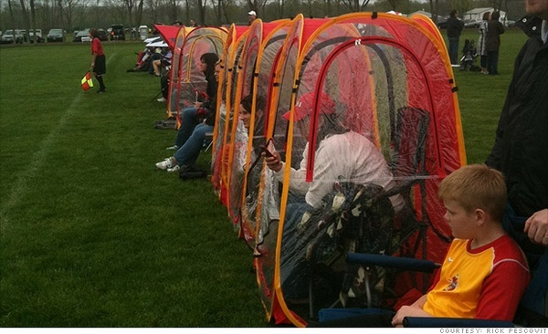 UndertheWeather Tent. Your own personal tent for the