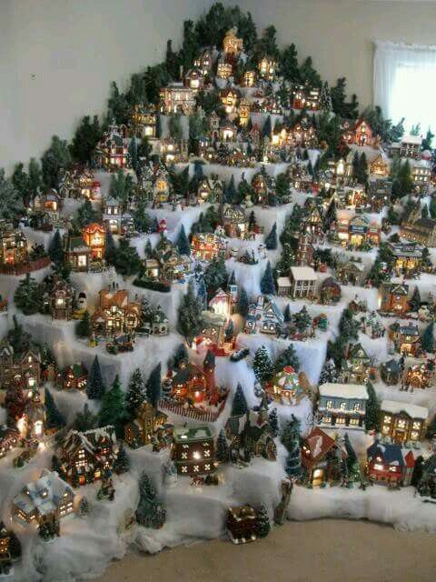 1748 Best Images About Christmas Village Displays On Pinterest