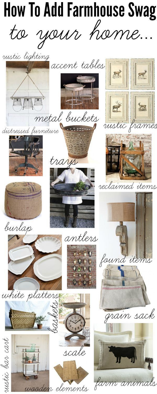 How to add farmhouse style to your home – A one stop shop with links to the items & they are all on sale!
