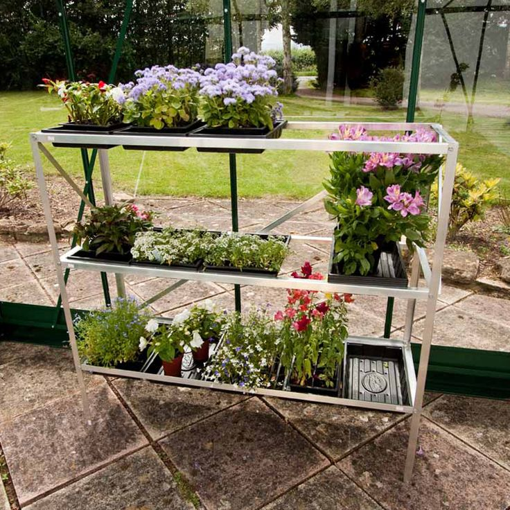 Halls 3 Tier Seed Tray Garden Buildings Thompson