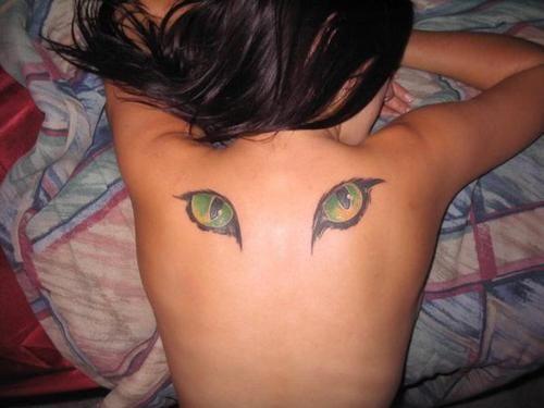 1000+ Ideas About Cat Eye Tattoos On Pinterest