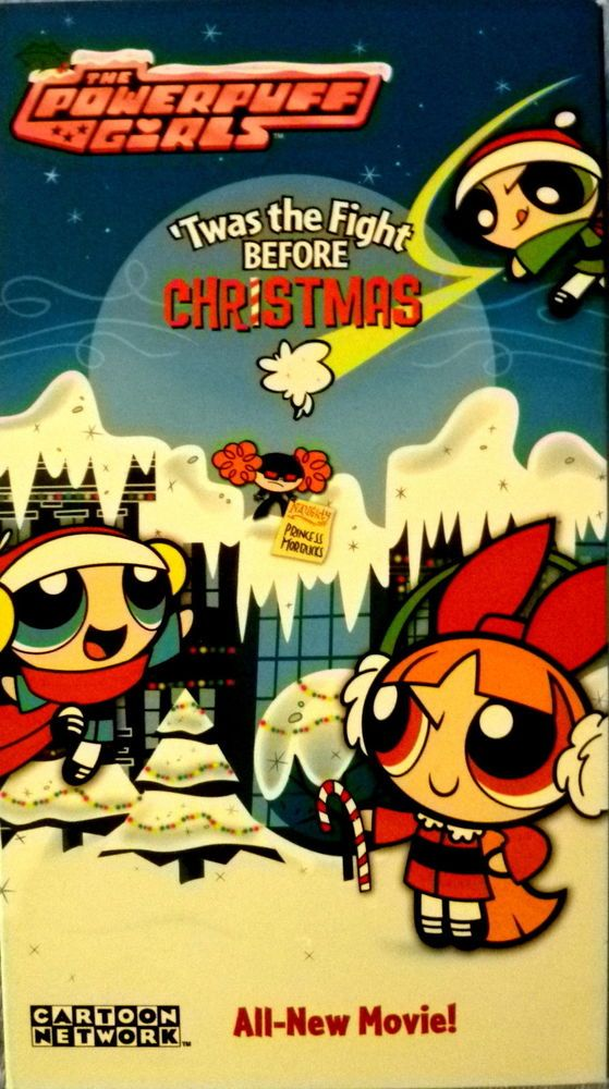 The Powerpuff Girls Twas the Fight Before Christmas (VHS