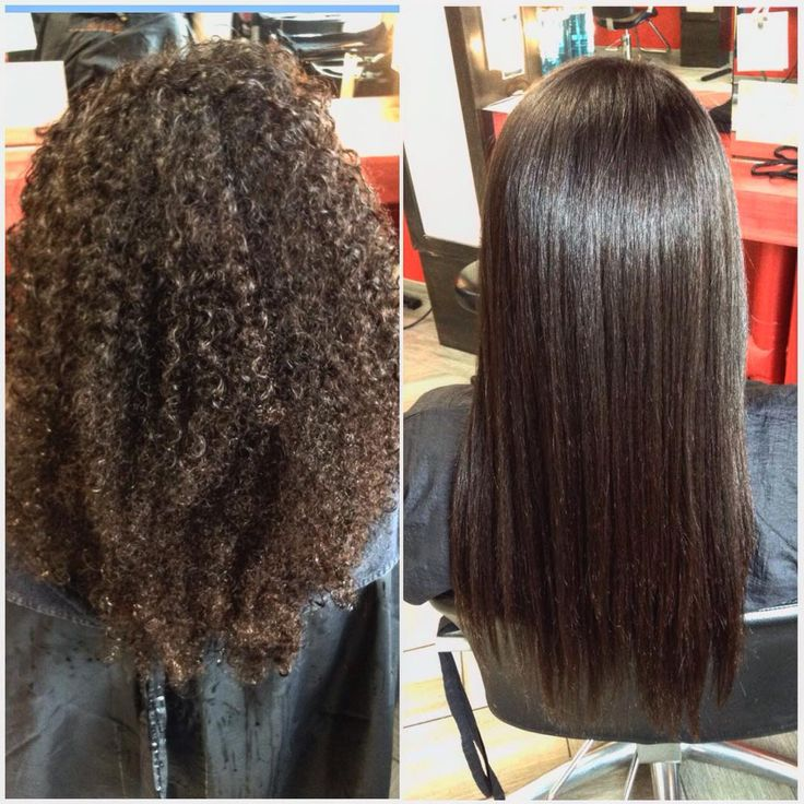 From super curly to super straight with Liscio Japanese